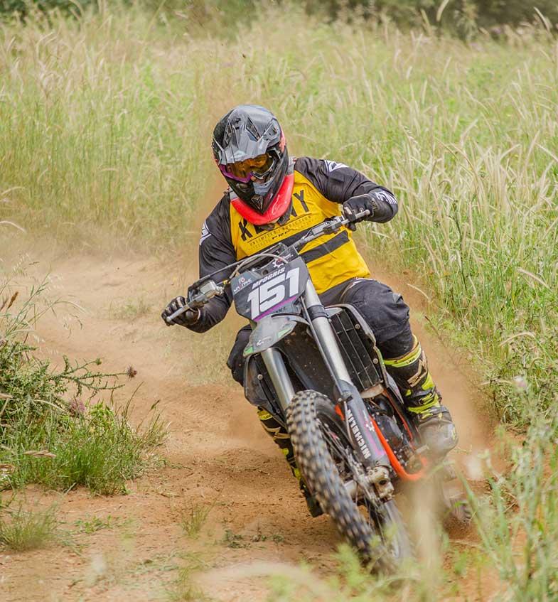 Dirt Bike Trail Countryside Rider
