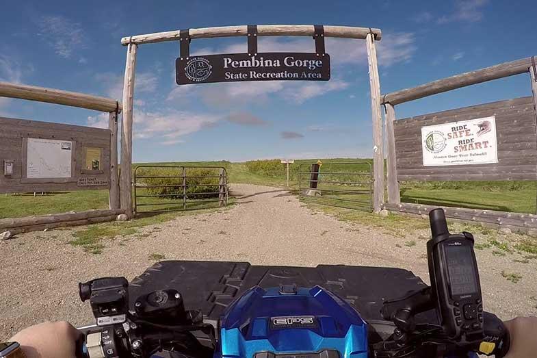 Pembina Gorge State Recreation Area