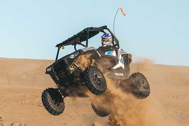 Polaris Sand Dune Riding