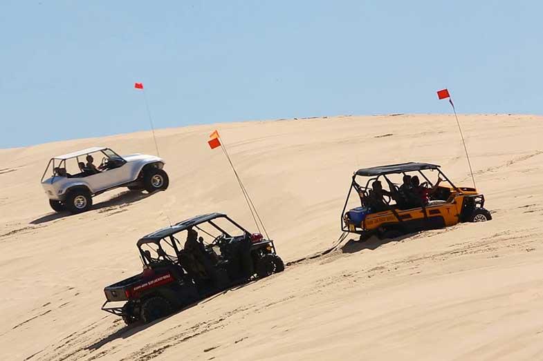 Silver Lake Sand Dunes Michigan Riding