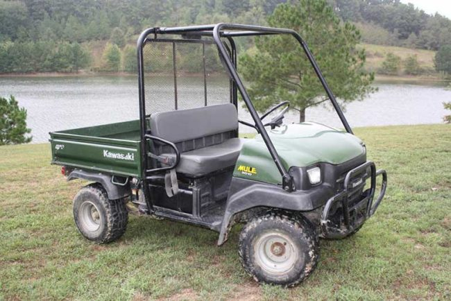 Kawasaki Mule 3010 Specifications and Reviews (UTV)