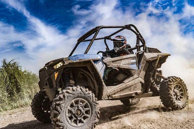UTV Buggy Ride on Dirt Track Adventure