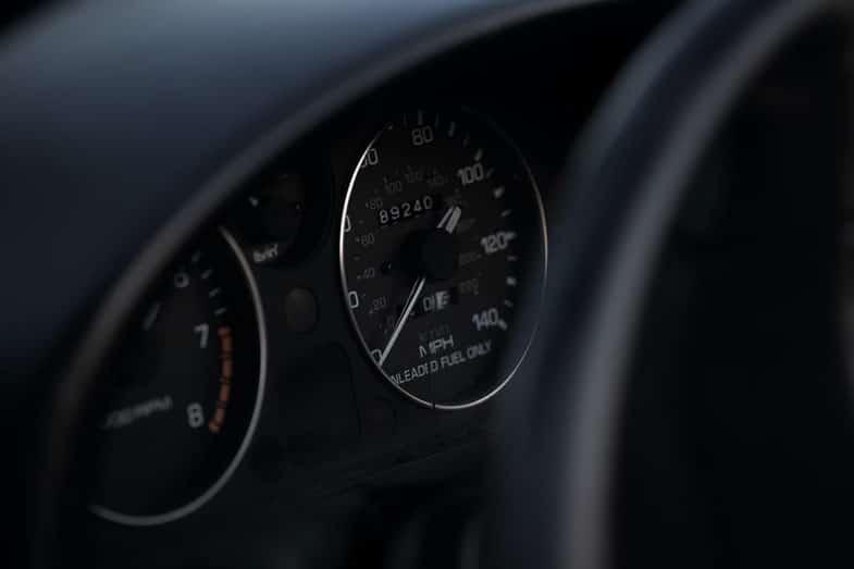 Vehicle Speedometer MPH
