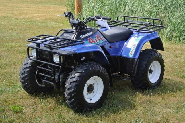 Kawasaki Bayou 300 4×4 Specs and Review