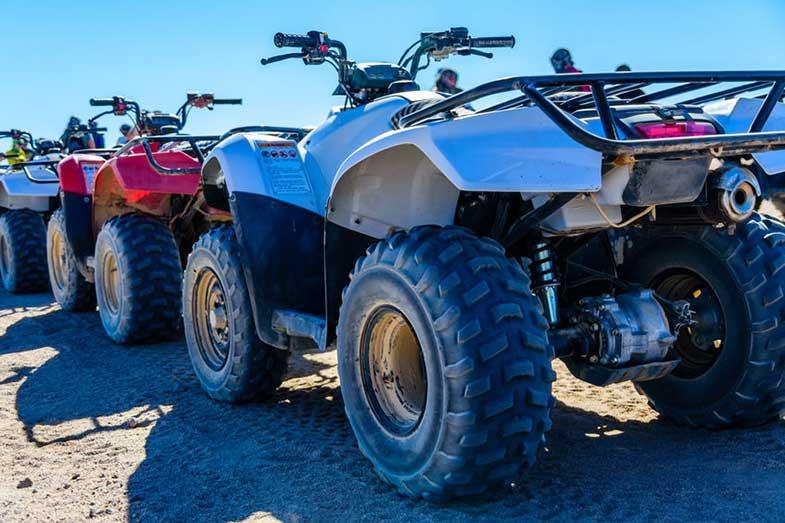 Quad Bikes on Sand