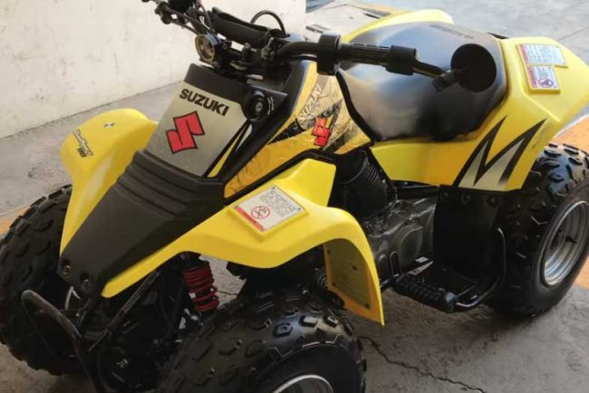 Suzuki LT80 Specs and Review (QuadSport)
