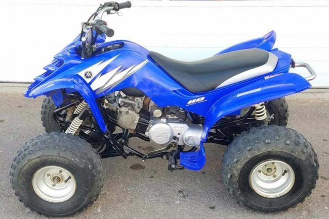 Yamaha Raptor 80 Specs and Review