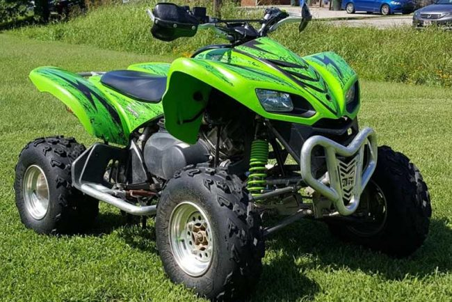 Kawasaki KFX 700 Specs and Review