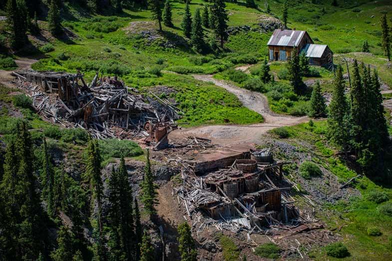 Mine Ruins, Alpine Loop, Colorado