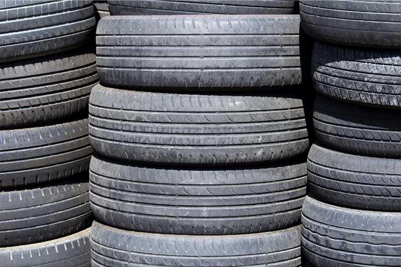 Used Vehicle Tires Worn