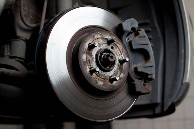 Vehicle Brake Disc and Pads