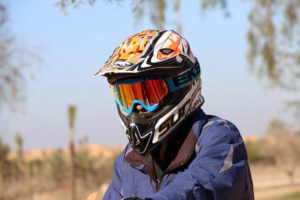 Biker Helmet Motorbike