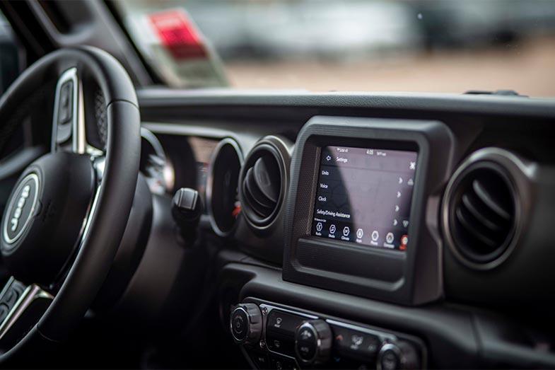 Jeep Interior Dashboard Instrumentation