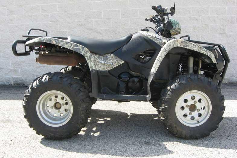 Camo 2006 Suzuki Vinson 500 4x4 ATV