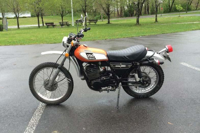 1975 Yamaha DT250 Motorcycle