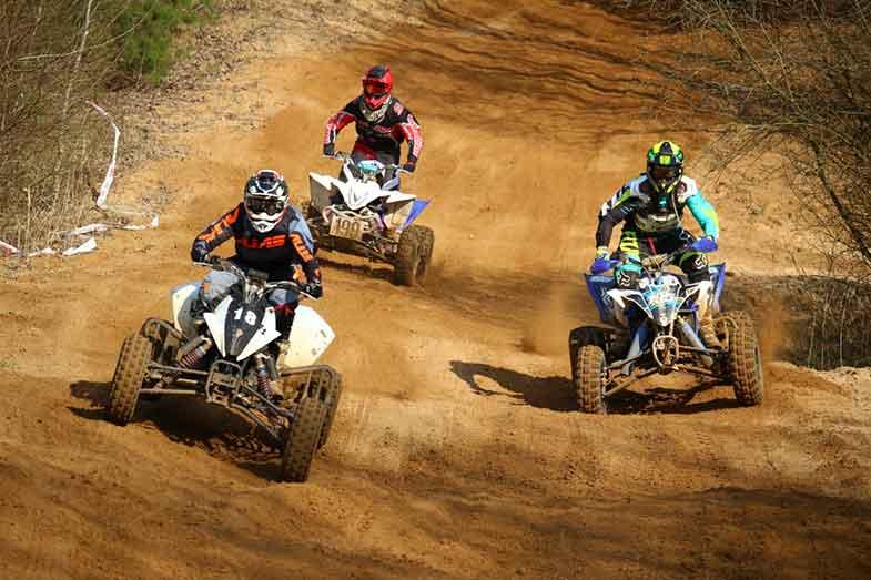 Motocross Quad ATV Race