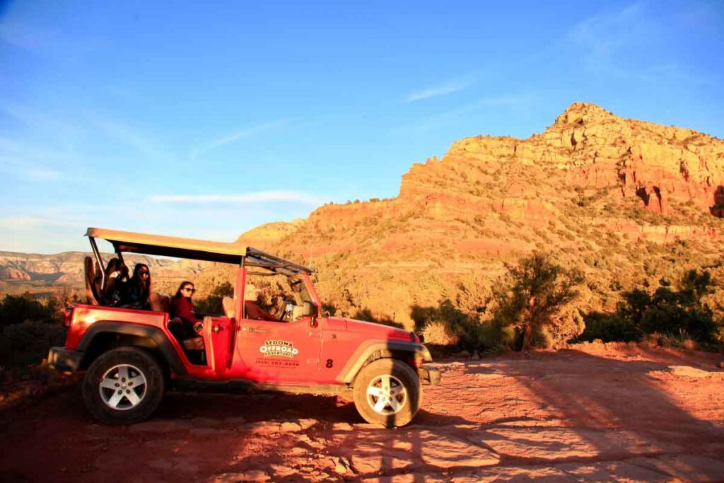 Sedona Jeep Tour Off-Road