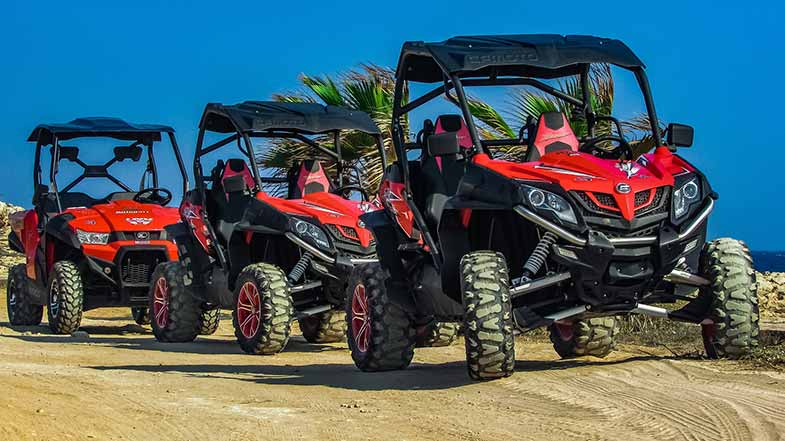 Red Off-Road Buggy Vehicles