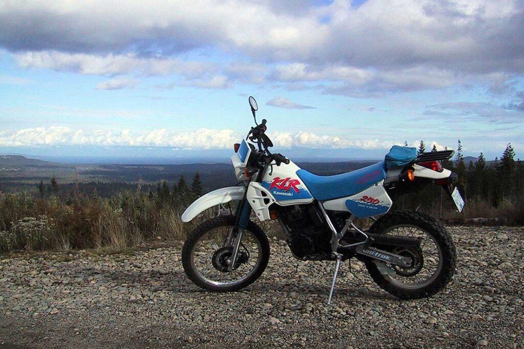 1992 Kawasaki KLR 250 Dirt Bike