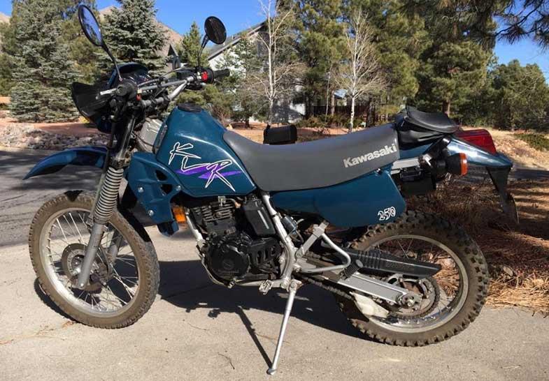 1997 Kawasaki KLR 250 Dirt Bike