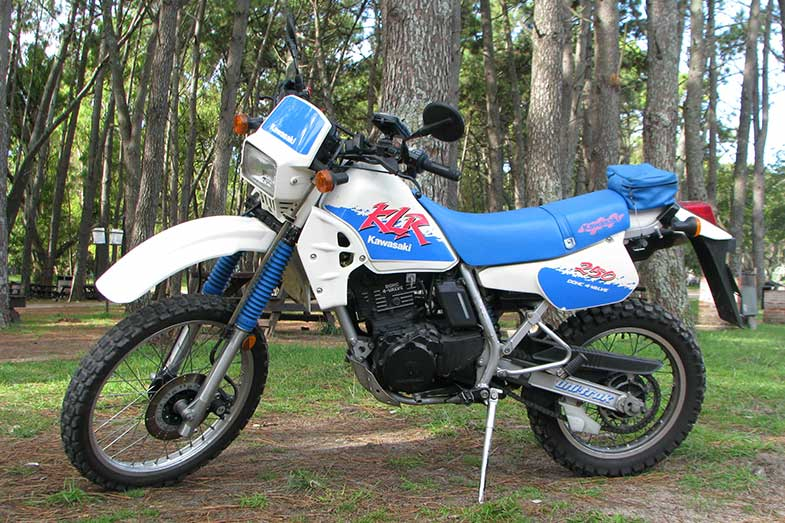Kawasaki KLR 250 Dirt Bike